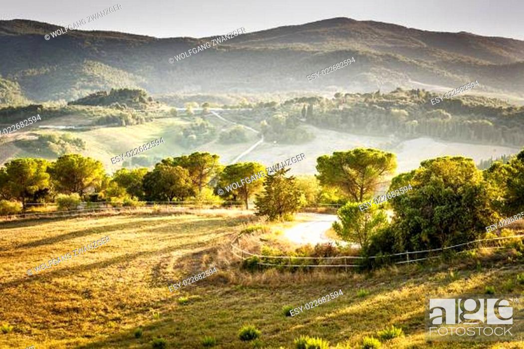 Stock Photo: Landscape Volterra.