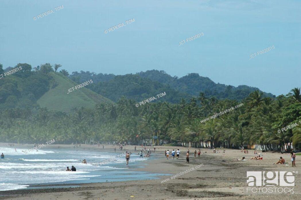 Photo de stock: Costa Rica, Pacific coast landscape.
