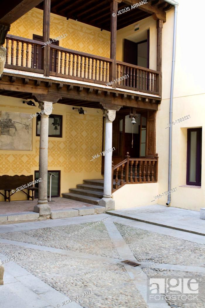 Imagen: Quintanar Palace, Segovia, Castilla-Leon, Spain.