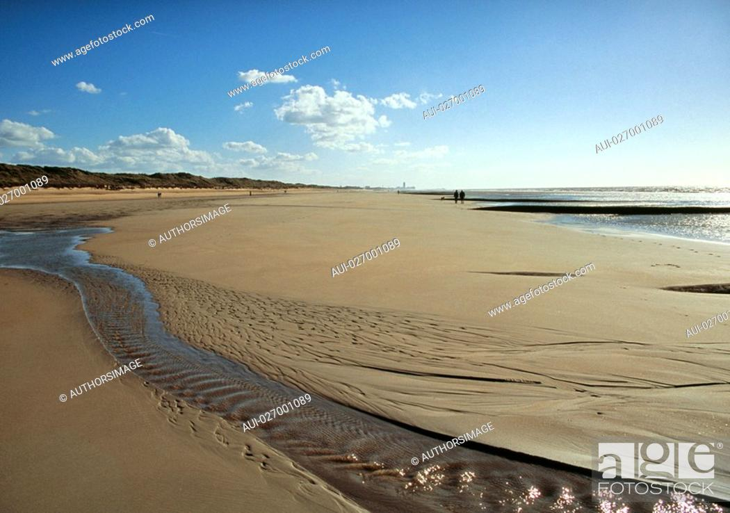 Stock Photo: Belgium - Flanders - Ostend - North Sea.