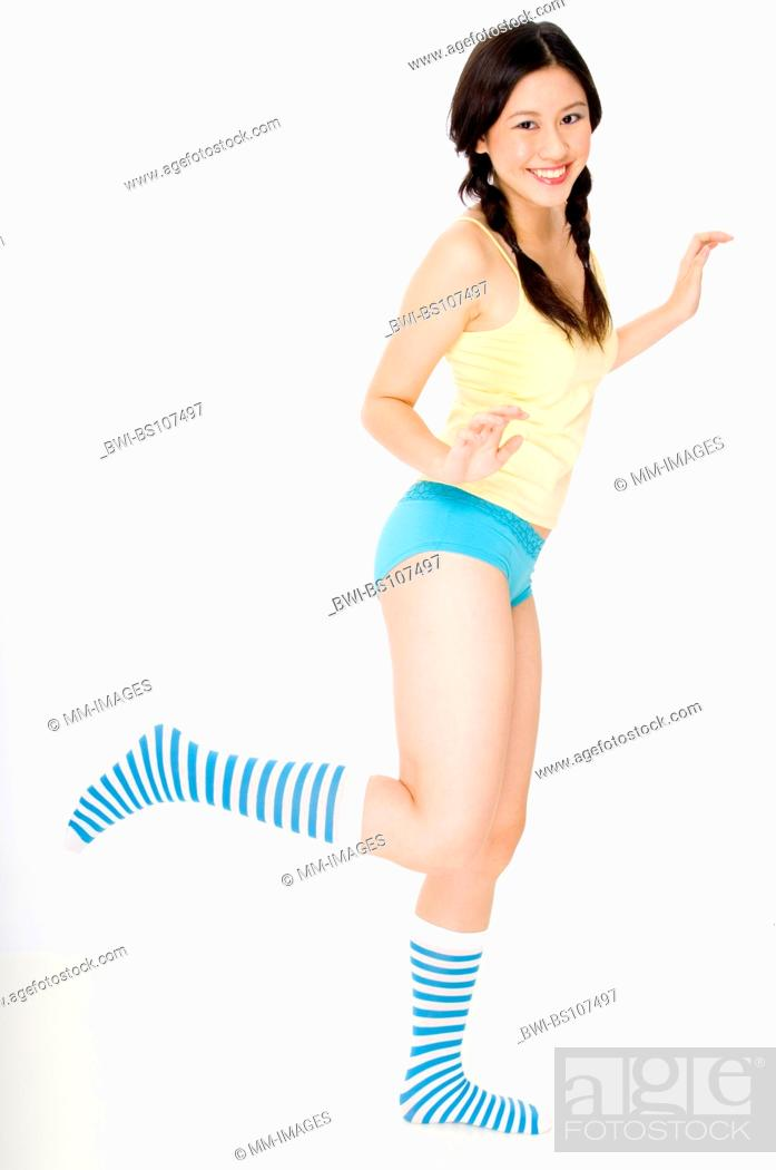Pretty Young Asian Teenage Girl In Colorful Underwear And Socks Standing On One Leg Stock Photo Picture And Rights Managed Image Pic Bwi Bs107497 Agefotostock Sur.ly for drupal sur.ly extension for both major drupal version is. https www agefotostock com age en stock images rights managed bwi bs107497