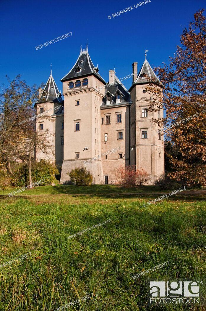 Imagen: Castle in Goluchow, village in Geater Poland Voivodeship.