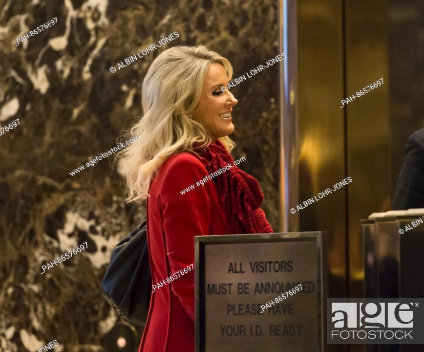 Fox News anchor Heather Childers is seen in the lobby of