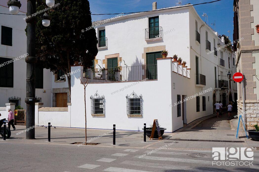Stock Photo: Sitges, Barcelona, Catalonia, Spain, Europe.