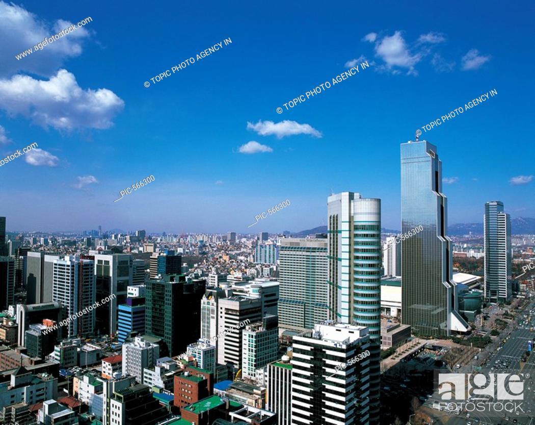 Stock Photo: Trade Center,Seoul,Korea.