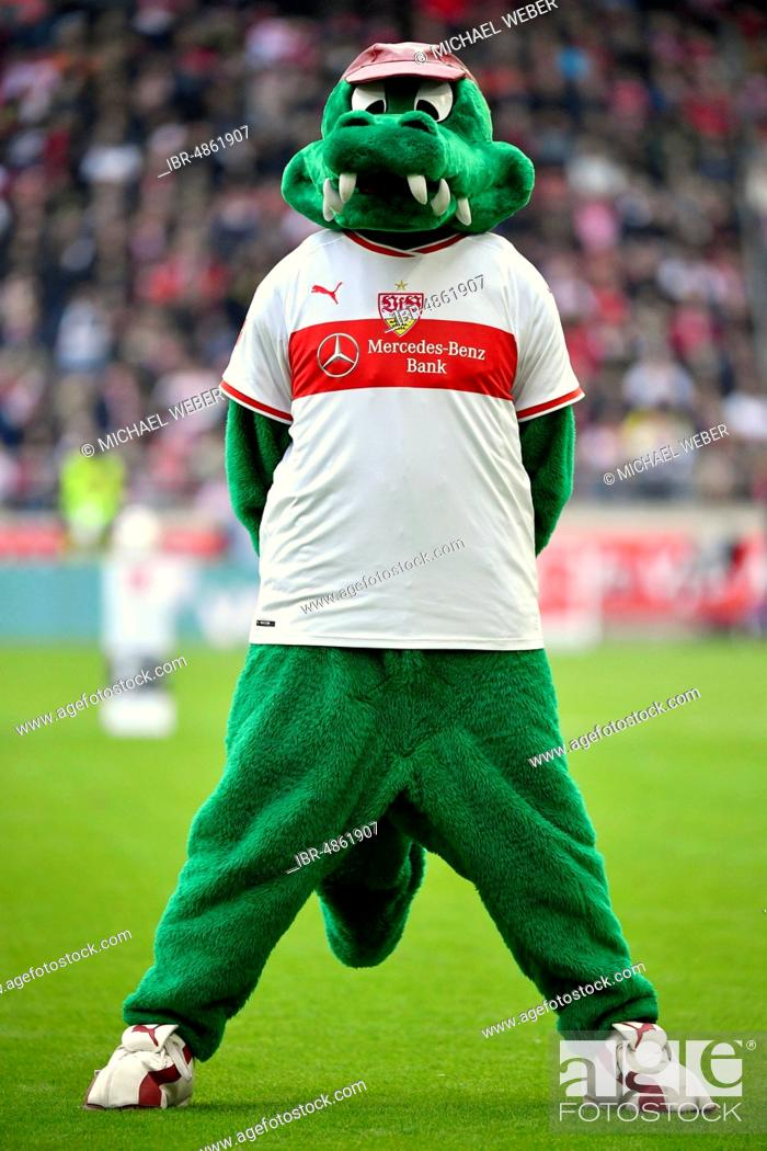 Crocodile Figure Fritzle Mascot Of The Vfb Stuttgart Mercedes Benz Arena Stuttgart Stock Photo Picture And Rights Managed Image Pic Ibr 4861907 Agefotostock