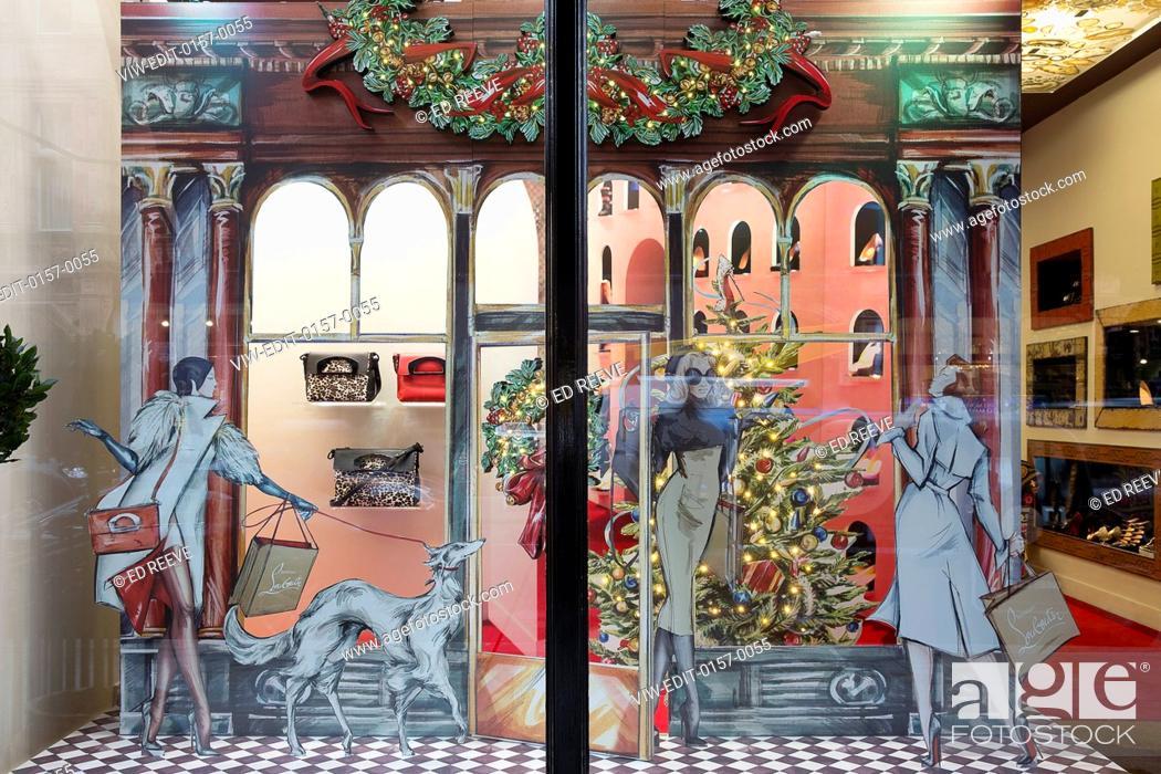 114f0527df8 Display windows. Christian Louboutin - Christmas Windows, London ...