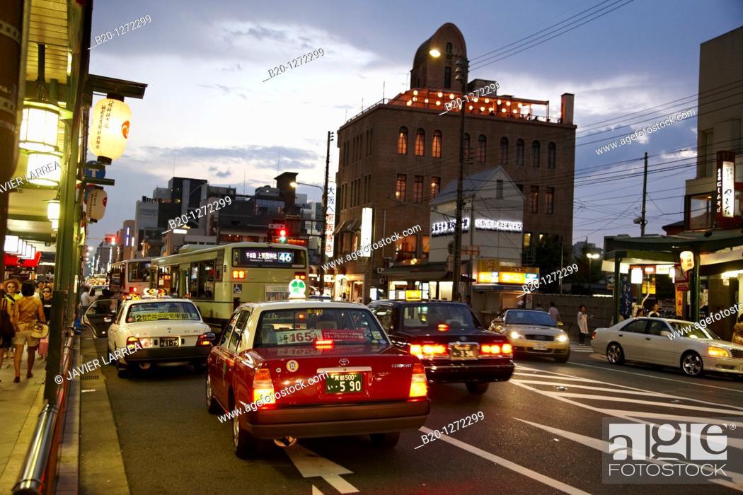 Stock Photo: Gion, Kyoto, Japan.