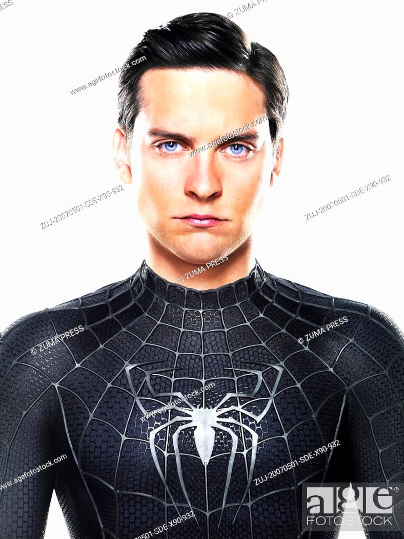 Stock Photo: RELEASE DATE: May 2007. MOVIE TITLE: Spider-Man 3. STUDIO: Columbia Pictures/Sony Pictures Entertainment. PLOT: A strange black entity from another world bonds.