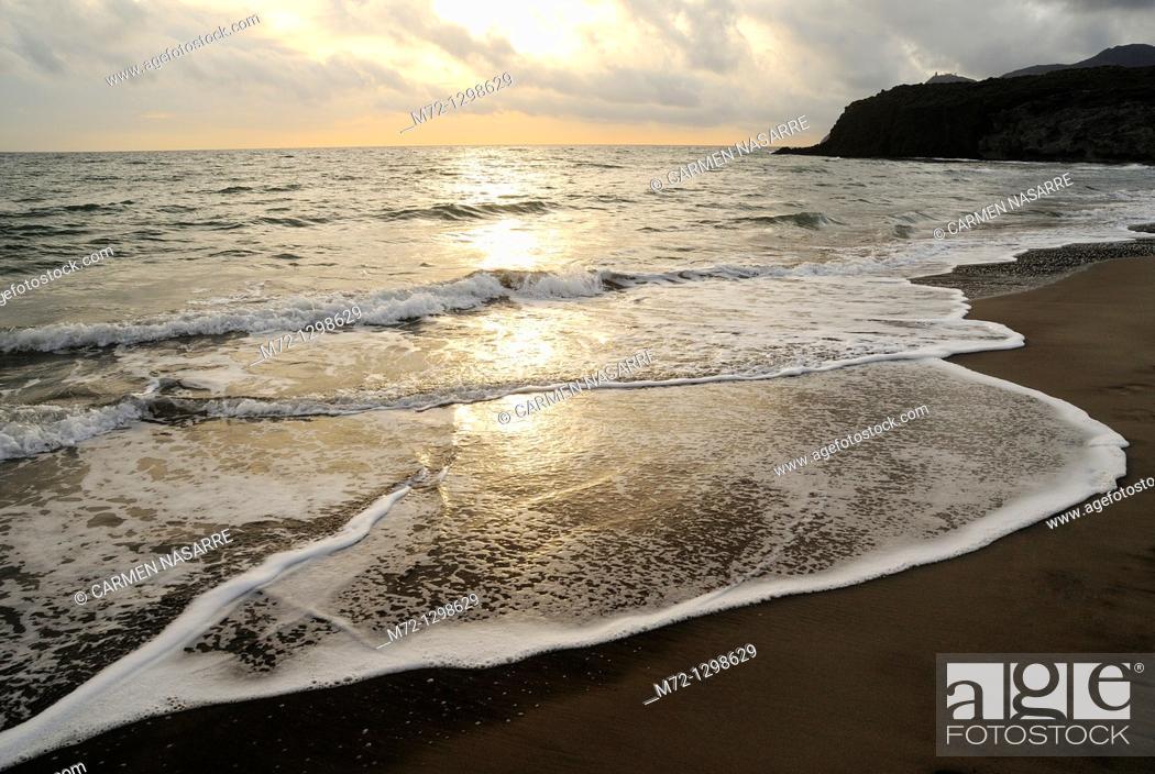 Stock Photo: Cabo de Gata-Nijar Natural Park, Almeria province, Andalusia, Spain.