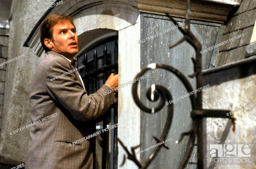 Stock Photo: RELEASE DATE: Feb 16, 1988. MOVIE TITLE: Frantic. STUDIO: The Mount Company. PLOT: A doctor and his wife go to Paris for a medical conference.