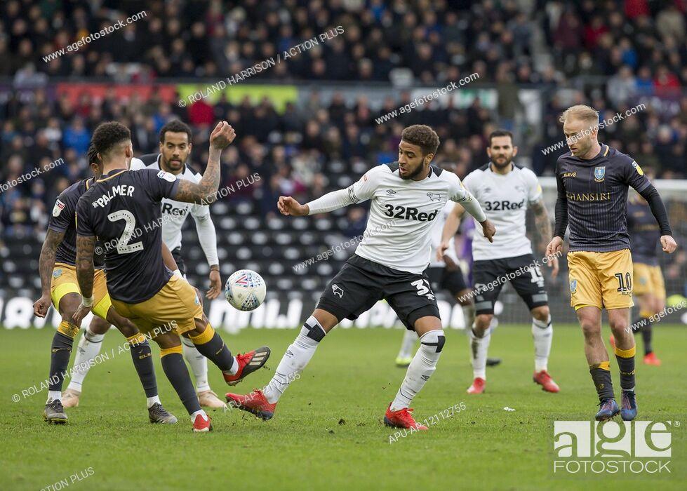2019 EFL Championship Football Derby County v Sheff Wed Mar