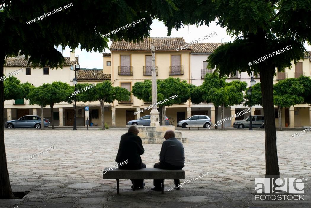 Stock Photo: Pastrana, Alcarria, Guadalajara province, Castilla-La Mancha, Spain.