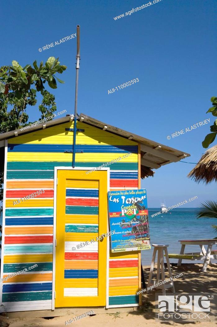 Stock Photo: Dominican Republic - North Coast - Cabrera.