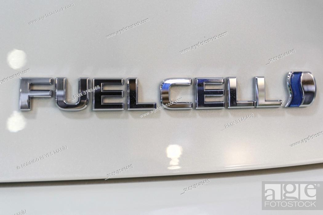 September 26, 2018, Tokyo, Japan - A sign of Fuel Cell is