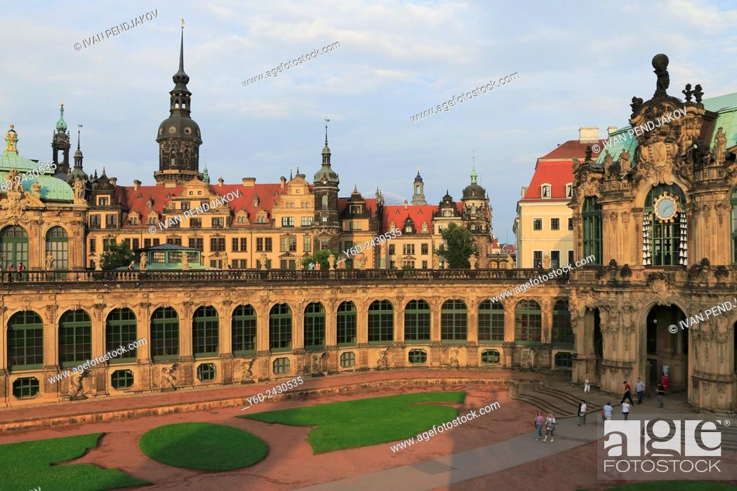 Stock Photo: Zwinger Palace, Dresden, Germany.