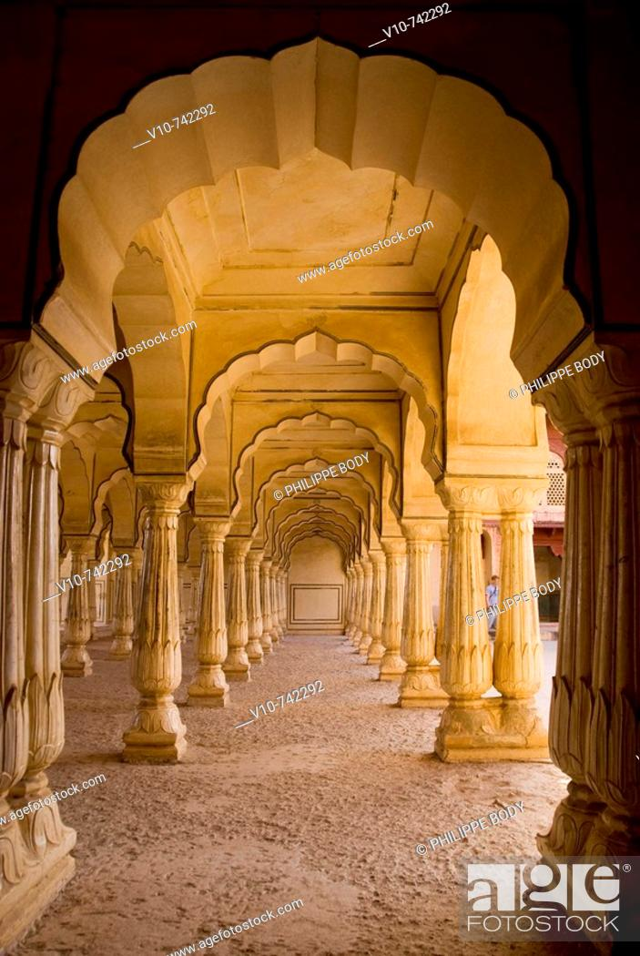 Stock Photo: Amber Fort built in 1592, Amber, Rajasthan, India.