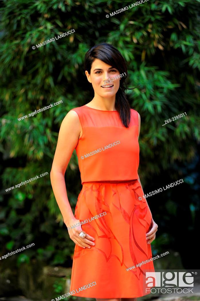 Imagen: Valeria Solarino; Solarino; actress; celebrities; 2015;rome; italy;event; photocall; la scelta.