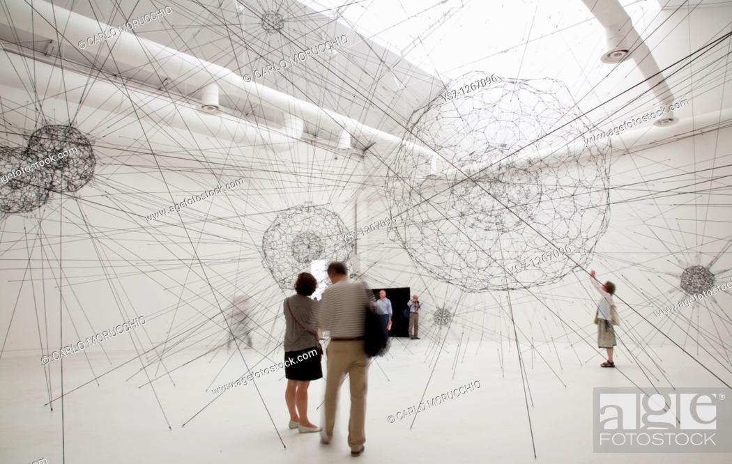 Stock Photo: 53rd International Art Exhibition, Biennale 2009, Venice, Italy.