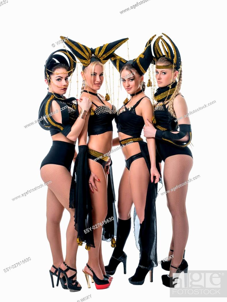Hot girls group images Hot Girls From Dancing Go Go Group Isolated On White Stock Photo Picture And Low Budget Royalty Free Image Pic Esy 027616630 Agefotostock