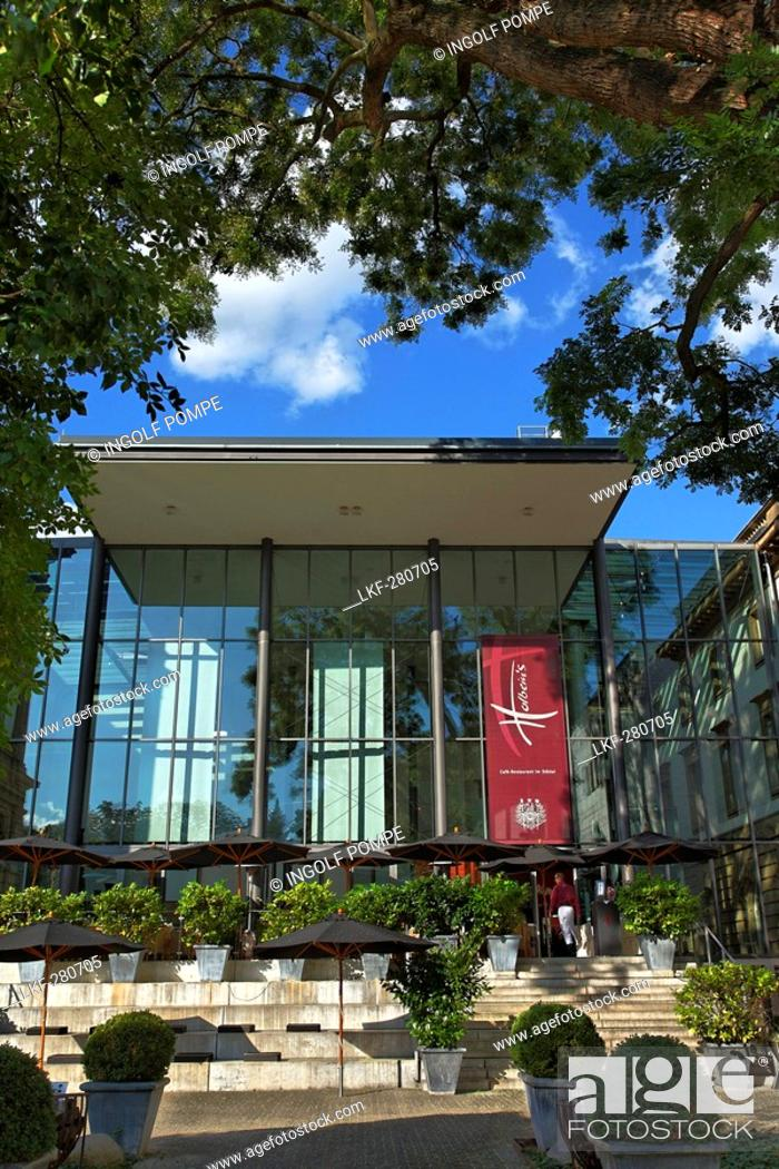 Imagen: Restaurant, Staedel Museum, Frankfurt-Sachsenhausen, Frankfurt am Main, Hesse, Germany.