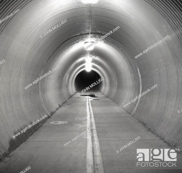 Stock Photo: Main Street Tunnel; Boise, Idaho Greenbelt.