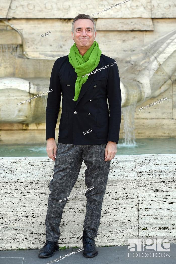 Stock Photo: Massimo Ghini during 'La volta buona' film photocall, Rome, 04/03/2020.