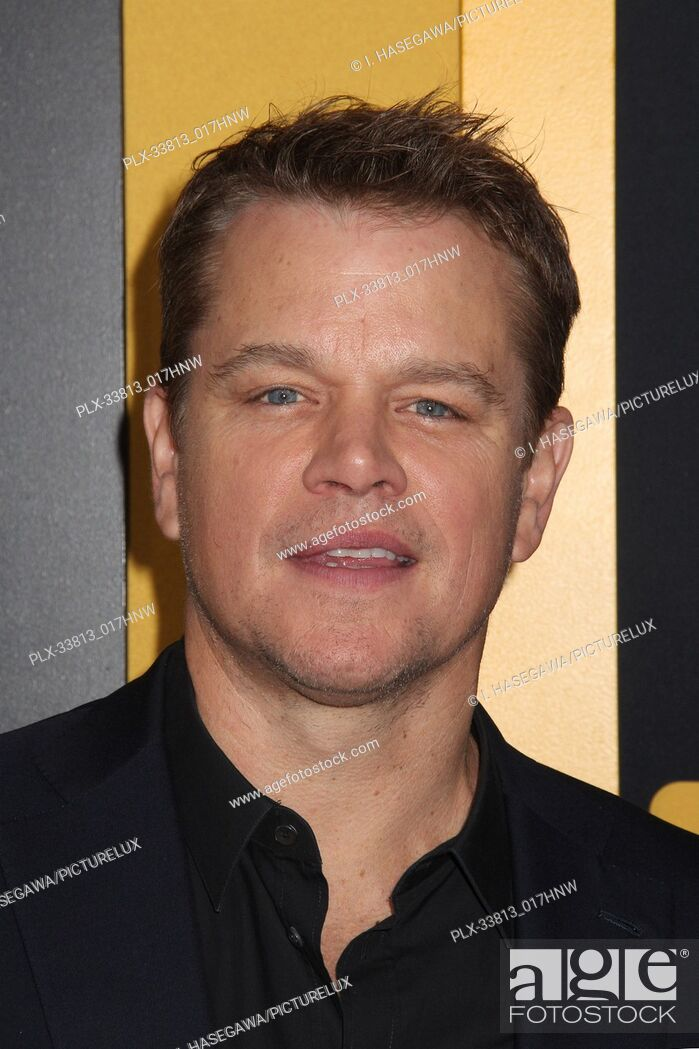 """Stock Photo: Matt Damon 05/07/2019 The U.S. Premiere of Hulu's """"""""CATCH-22"""""""" held at The TCL Chinese Theatre in Los Angeles, CA Photo by I."""