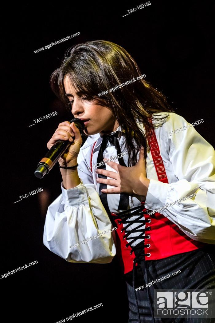 Camila Cabello performing at 93 3 FLZ's iHeartRadio Jingle