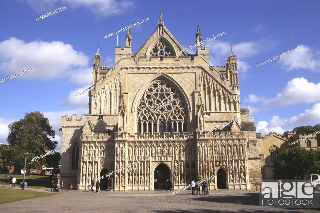 Imagen: Exeter Cathedral Devon England.