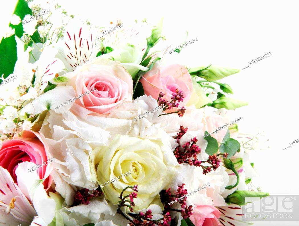 Stock Photo: Beautiful wedding bouquet.