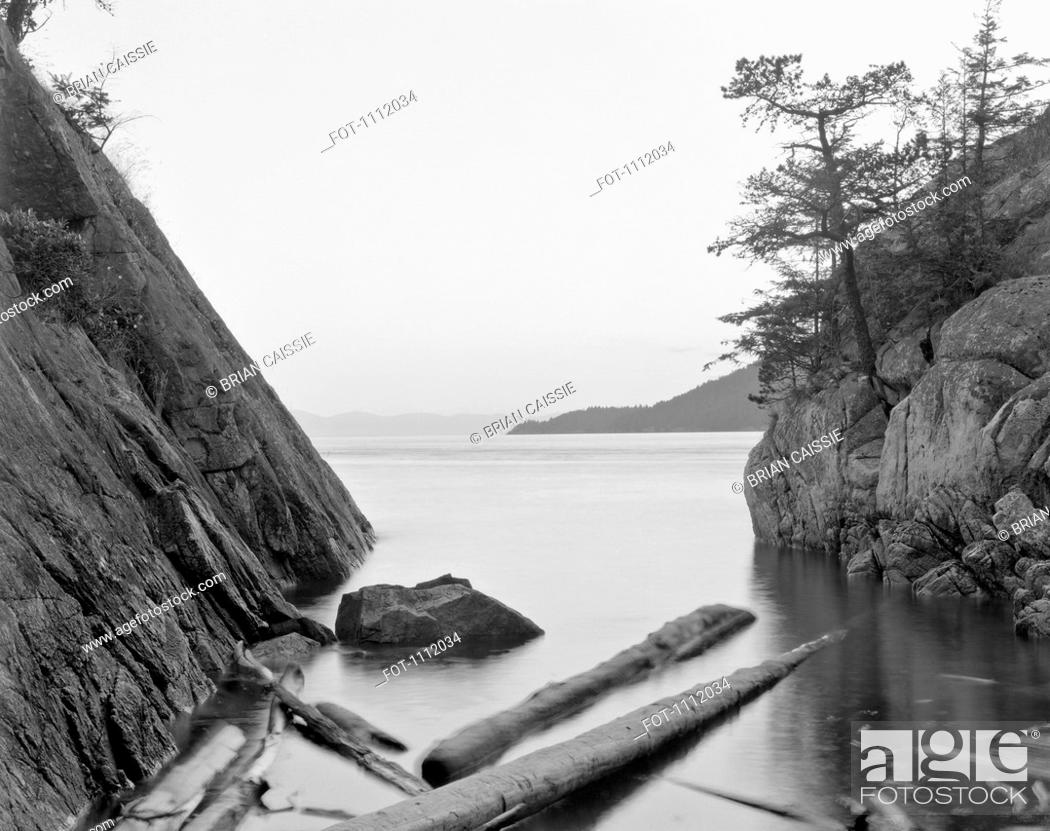 Stock Photo: Whytecliff Park, British Columbia, Canada.