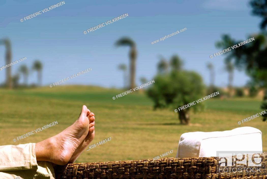 Stock Photo: Relaxation, Spain.
