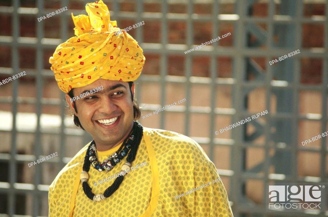 Stock Photo: folk musician , rajasthan , india , MR  NO  657 B.