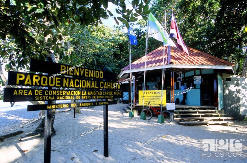 Stock Photo: Costa Rica, Caribbean coast, Cahuita National Park.