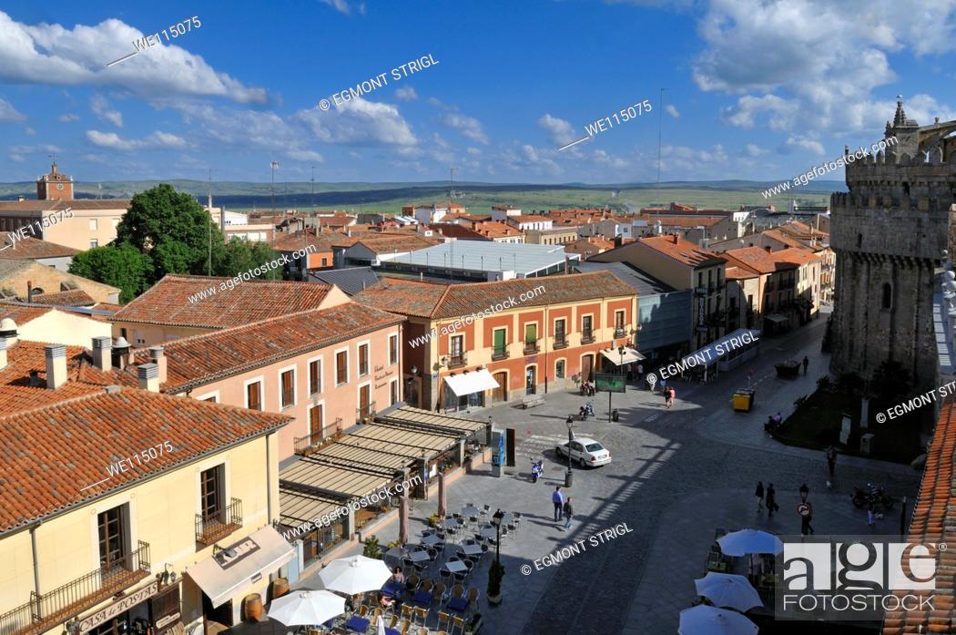 Imagen: Europe, Spain, Castile and Leon, Castilia y Leon, Unesco World Heritage Site, view over Avila.