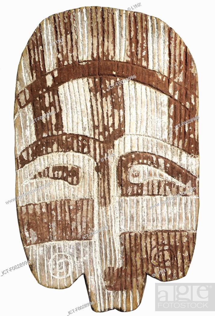 Stock Photo: World symbols: Mask Africa.