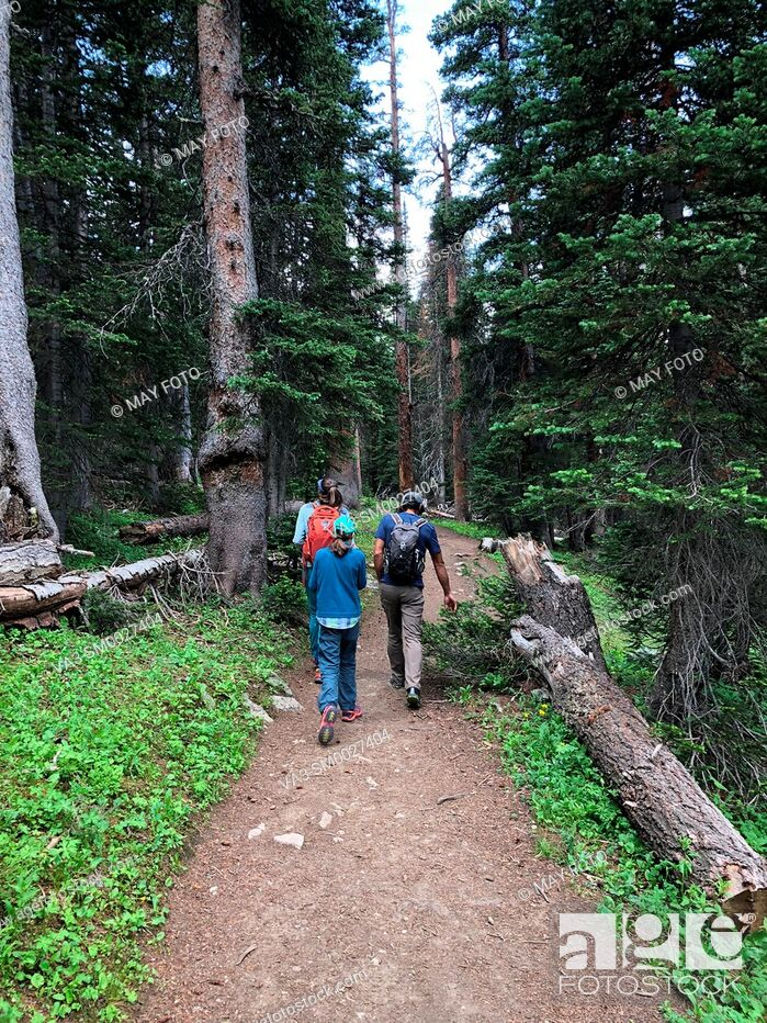 Stock Photo: Ward, Indian Peaks Wilderness, Colorado, United States.
