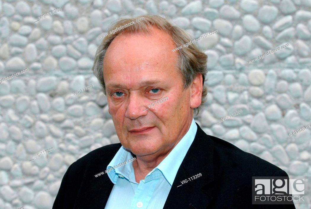 Prof Dr Joachim Satorius Director Of The Berlin Festival Poet