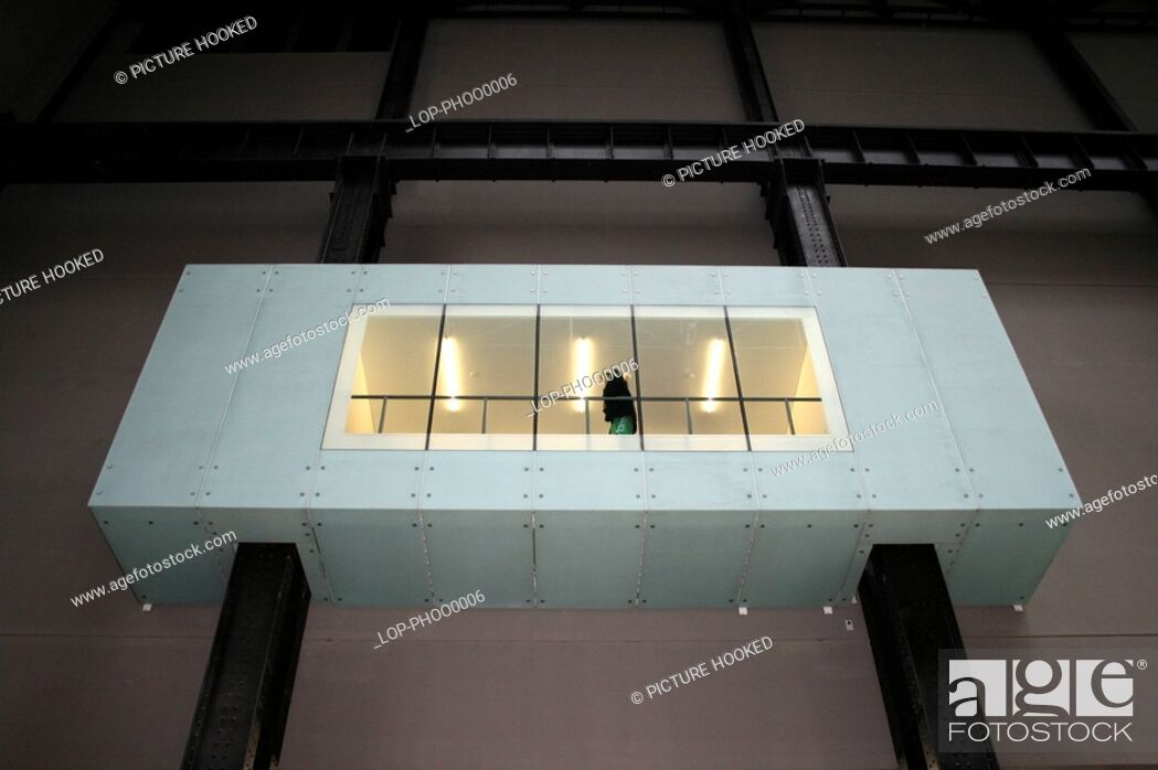 Imagen: England, London, South Bank, The interior of Tate Modern.