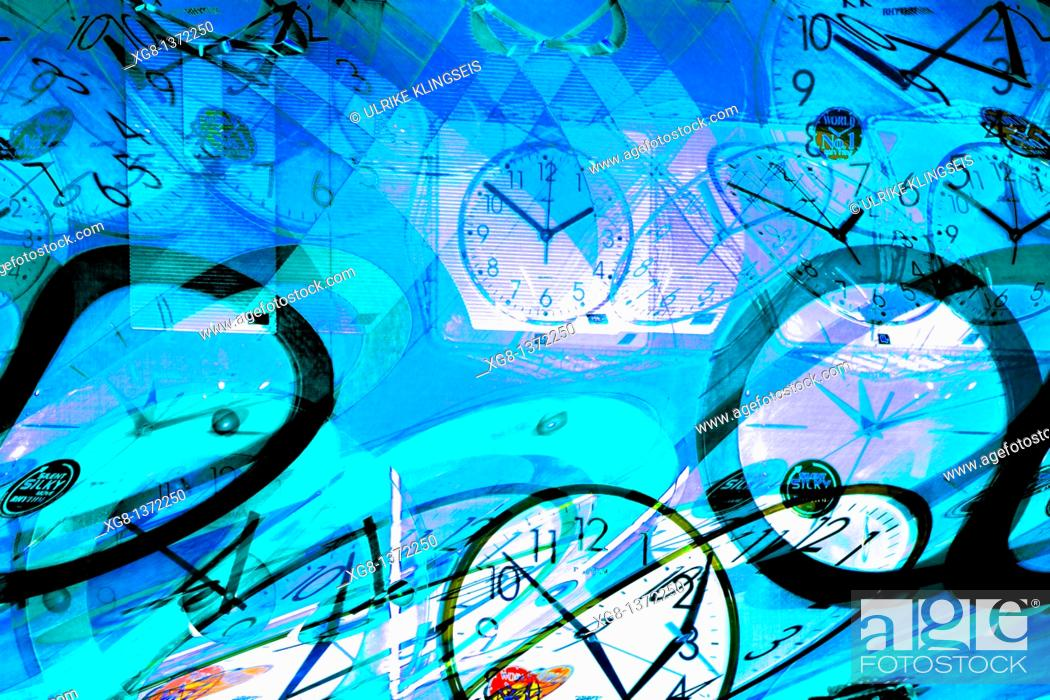 Stock Photo: time abstract.