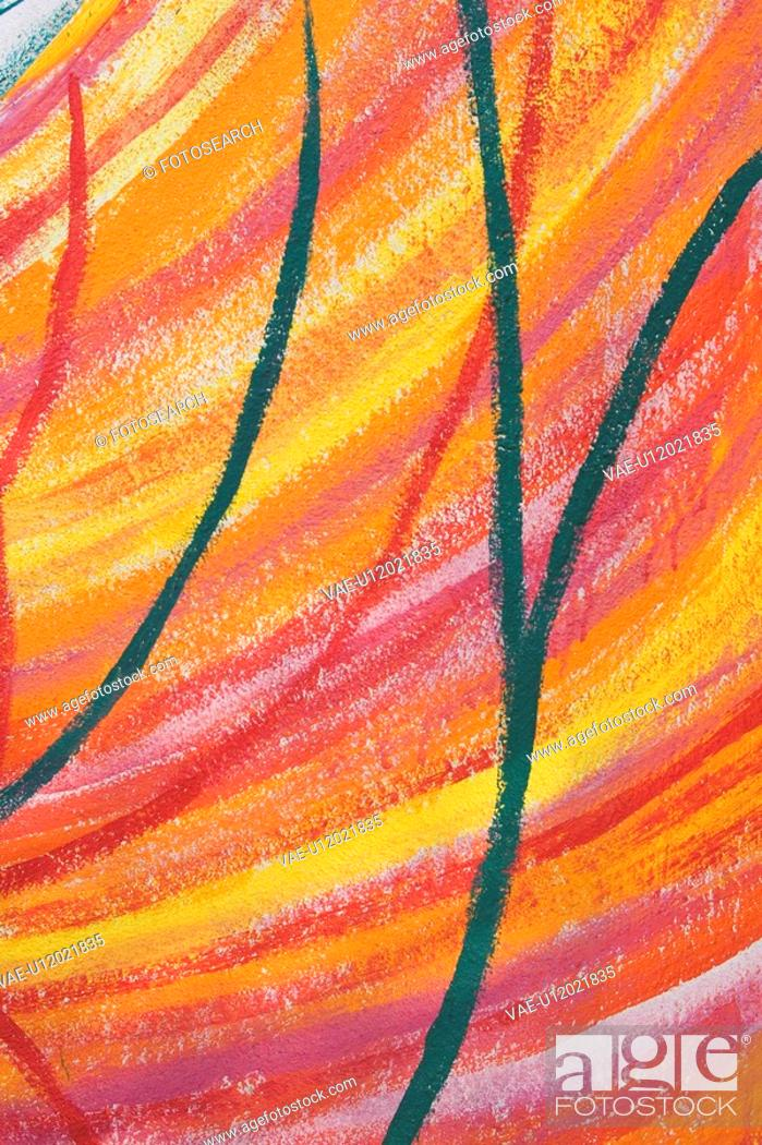 Stock Photo: Close-Up, Illustration And Painting, Illustration, Design, Abstract.