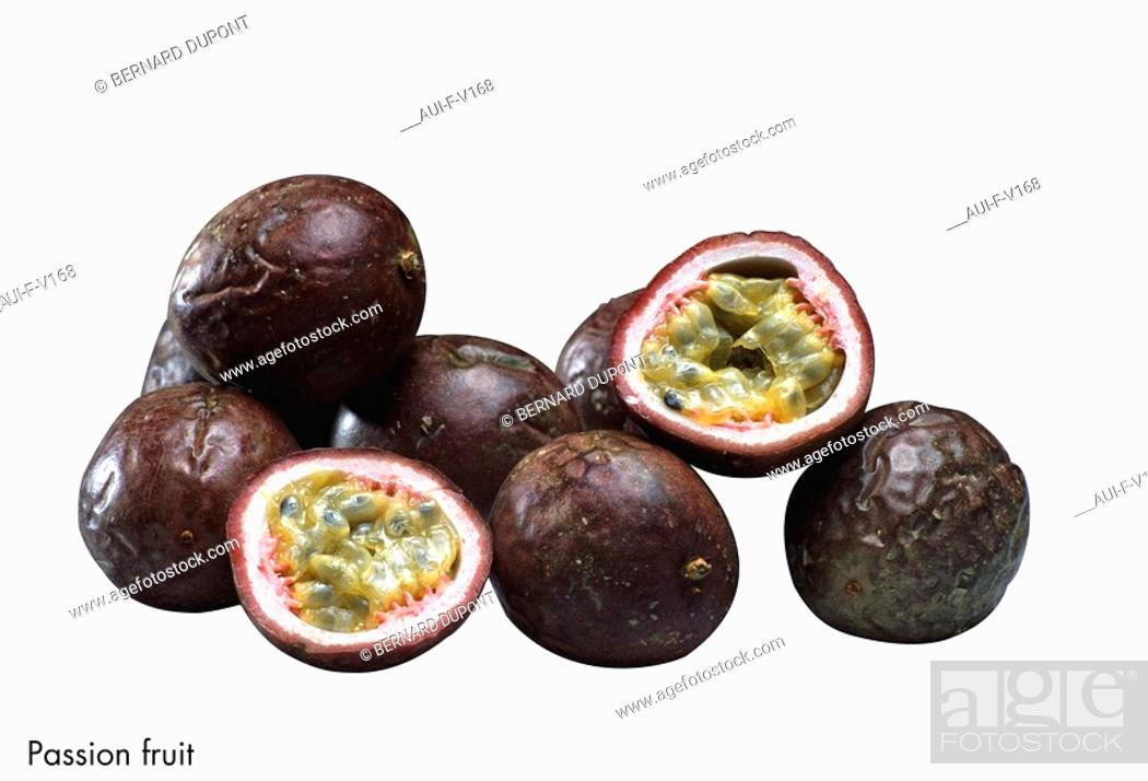 Stock Photo: Passion fruit.