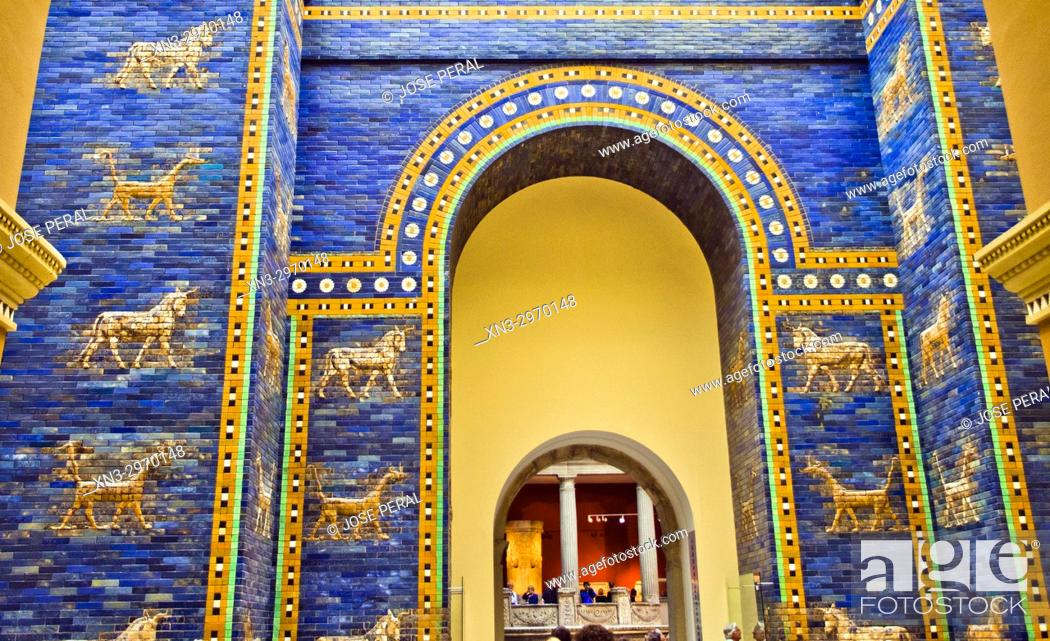 ishtar gate of babylon pergamon museum museum island berlin