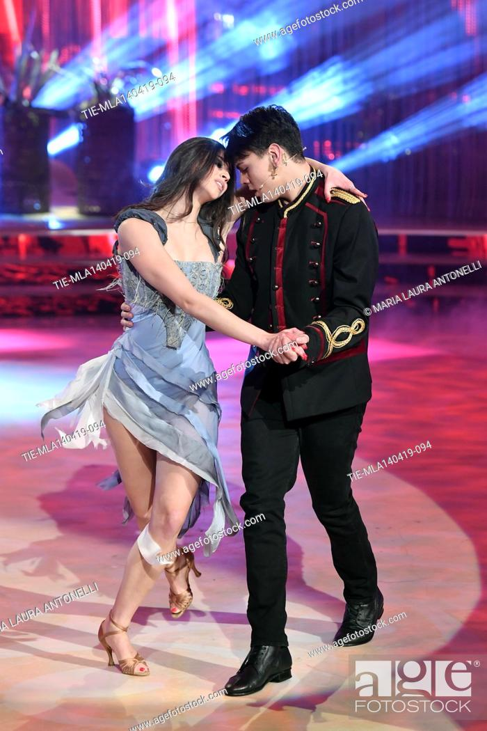 Imagen: Marco Leonardi during the performance at the talent show ' Ballando con le stelle ' (Dancing with the stars) Rome, ITALY-14-04-2019.