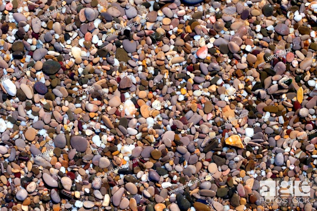 Stock Photo: pebbles.
