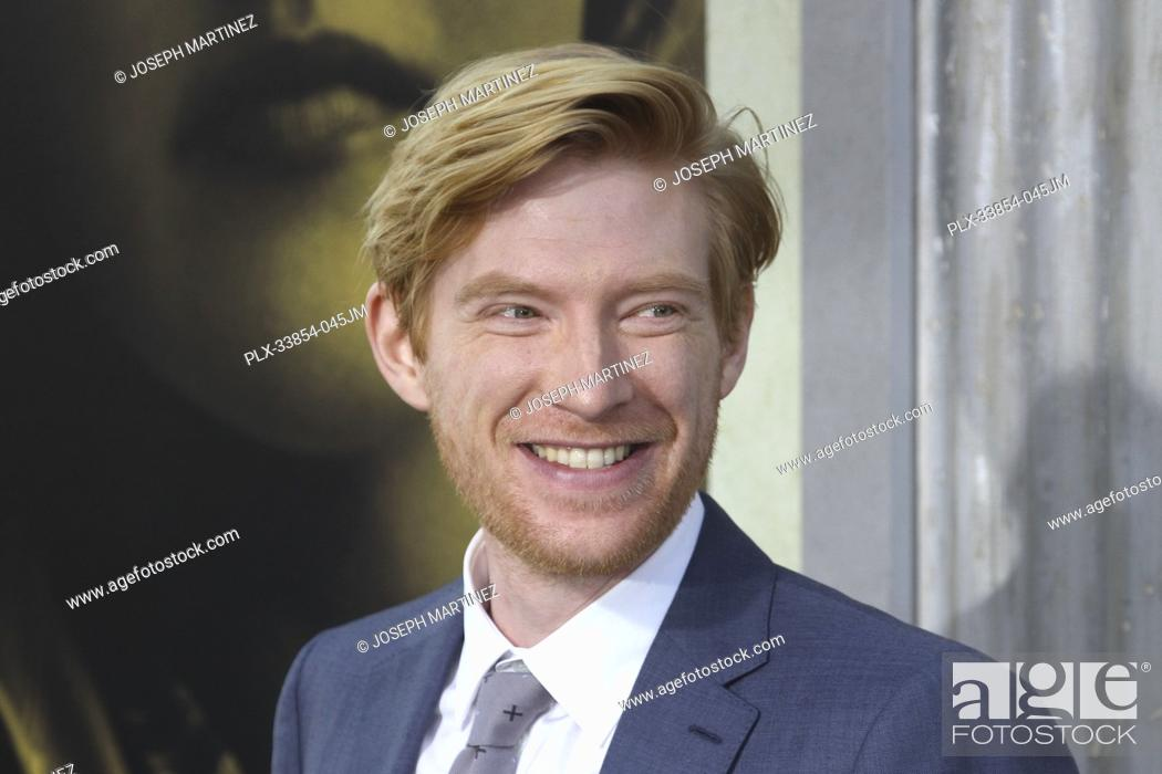 """Stock Photo: Domhnall Gleeson at Warner Bros. Pictures' """"""""The Kitchen"""""""" Premiere held at the TCL Chinese Theatre, Los Angeles, CA, August 5, 2019."""