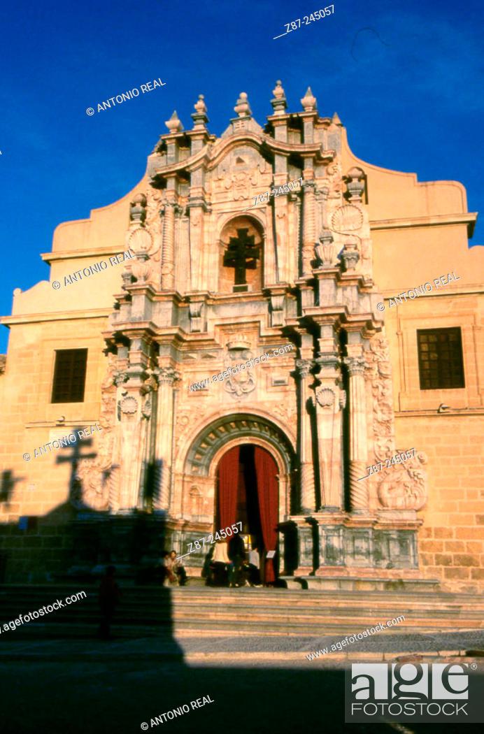 Stock Photo: Real Alcázar Santuario de la Vera Cruz. Caravaca de la Cruz. Murcia. Spain.