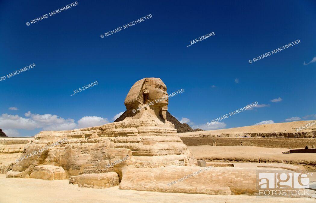 Imagen: Sphinx, The Giza Pyramids, Giza, Egypt.