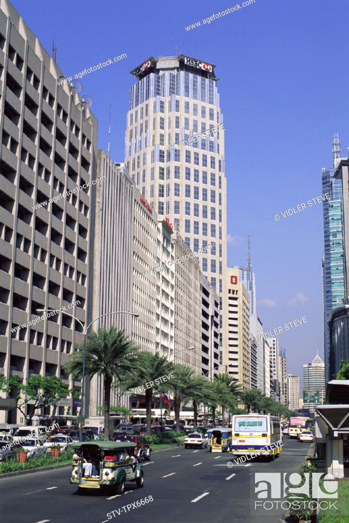 Area, Asia, Avenue, Ayala, Buildings, Business, District, Holiday